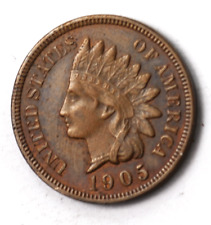 1905 1c Indian Head Penny One Cent Rare Uncirculated Philadelphia