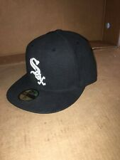 Chicago White Sox New Era Game Authentic Collection 59Fifty Fitted Hat Sz 7 3/8