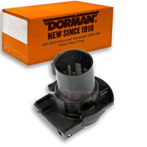Dorman Trailer Hitch Plug for 2001-2012 Chevrolet Silverado 2500 HD qa