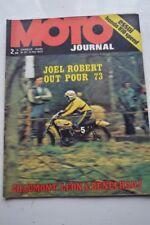 MOTO JOURNAL 117 Road Test HONDA 810 Speed CB 750 Four PIAGGIO AJS 7R 1973