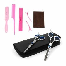 Professional Hairdressing Salon Scissors Combs Level Straight Cutting Thinning