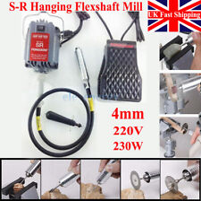 4mm 220V 230W S-R Hanging Flexshaft Mill Jewelry Design&Repair Tools UK SHIPPING