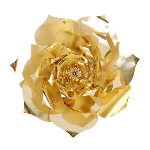 1Pcs 30/40cm Paper Flowers Backdrop, Birthday Wall Decor, Wedding Party Decors