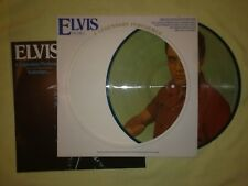 ELVIS PRESLEY A LEGENDARY PERFORMER VOL 3 LP (EX) 1978 USA PICTURE DISC +BOOKLET
