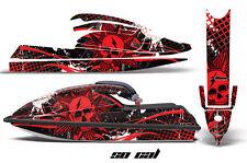 AMR Racing Jet Ski Graphics Wrap Kawasaki SX 750 Decal Kit 1992-1998 SOCAL RED