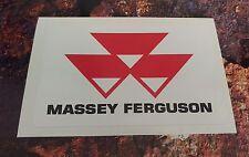 MASSEY FERGUSON STICKER DECAL 150mm x 94mm Tractor