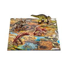 Schleich 42331 Mini Dinos mit Puzzle Sumpfgebiet