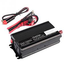 1500W 1500WATT 12v DC TO 110v AC car automotive POWER INVERTER Converter US Plug