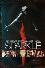 SPARKLE Movie Poster 27x40 DS Authentic Whitney Houston Jordan Sparks