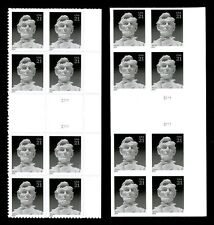 Scott # 4860 Die-Cut AND Imperf  Gutter Plate Blocks 21c Lincoln
