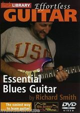 LICK LIBRARY EFFORTLESS GUITAR ESSENTIAL BLUES Learn to Play Lesson Tutor DVD