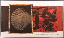 Scott Sandell Black Coral II unsigned gallery poster ARTWORK MAKE AN OFFER