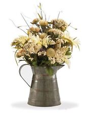 Vintage style Milk Pitcher by Park Designs - Floral Display, Flower Holder