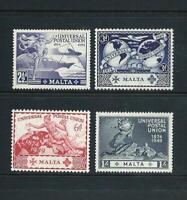 MALTA _ 1949 ' UPU ' SET of 4 _ MNH ____(686)