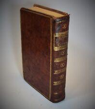 Manuel d'Épictète traduit du GREC commentaires Simplicius 1790 Bastien In-8°
