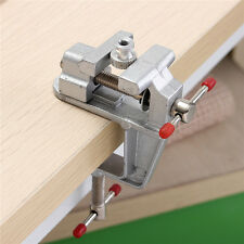 3.5'' Aluminum Mini Small Jewelers Hobby Clamp On Table Bench Vise Tool Vice US
