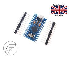 Arduino Pro Micro Leonardo compatible 5V 16MHz ATmega32U4 & headers UK TESTED