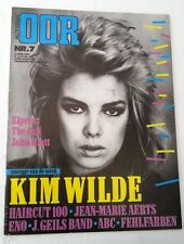 KIM WILDE cover & 3 page article OOR (HOLLAND)  magazine 1982