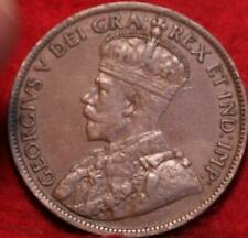 1919 Canada One Cent Foreign Coin