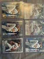 2020 Topps Bowman Dustin May RC Rookie Card 6 Card Lot! Dodgers