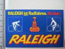 Decal Sticker Raleigh Nottingham England Bicycles Bikes Bicycles (4189)