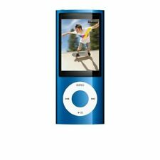Apple iPod Nano 16 Gb Blue 5th Generation Usb Mp3 Very Good 6E