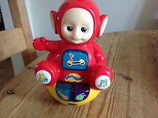 Teletubbies red po interactive toy sings music clean condition