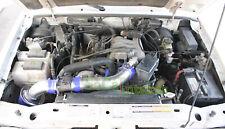 Blue 2pc Air Intake Kit & Filter For 2001-2003 Ford Ranger 4.0L V6 SOHC