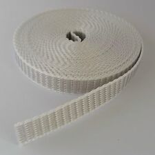 Roller Shutter Belt Webbing Band Width 0.6in 14.8ft Grey Belt Winder Roller