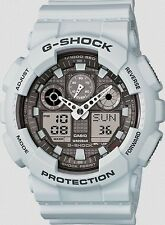 Casio G Shock *GA100LG-8A Anadigi Gshock Matte Ice Grey Blizzard COD PayPal
