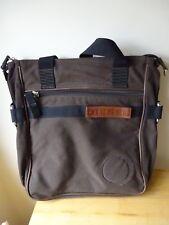 Diesel Brown Canvas Bag Handbag Tote Medium Size