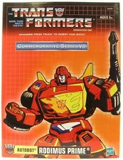 Transformers TRU G1 Commemorative Series VII Reissue Rodimus Prime