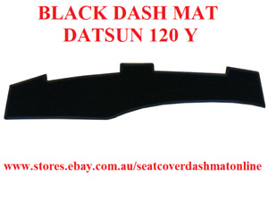 DASH MAT, DASHMAT, DASHBOARD COVER FIT DATSUN 120Y, BLACK