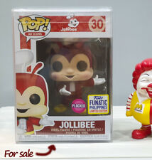 Flocked Jollibee Funko Pop!