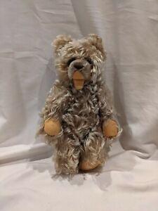 "Vintage German Steiff Bear Zotty Mohair 11"" Jointed"