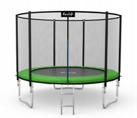 Trampoline 10FT Premium 312cm + Safety Net Ladder Spring Cover Pad 2020 Garden