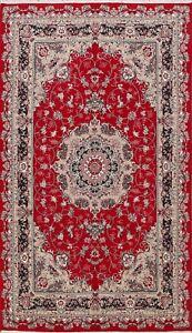 Floral Traditional Tebriz Turkish Oriental Area Rug Living Room Carpet 7x10 RED