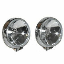 White Front Fog Spot Lights Lamps For Ford Fiesta Focus Fusion Ka Puma