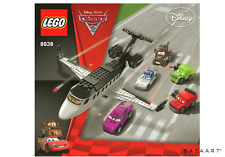 LEGO CARS 8638 SPY JET ESCAPE BOXED MATER MCQUEEN BOXED + INSTRUCTIONS 2