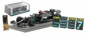 Spark S6488 Mercedes AMG W11 Winner Turkish GP 2020 - Lewis Hamilton 1/43 Scale