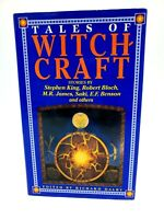 TALES OF WITCHCRAFT Stephen King, Bloch, James, Saki and more 1991 Hardcover 1ST