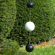 CIM Gartenstecker Edelstahl Duo-Bogen S Gesamthöhe 80cm Garten Deko Kugeln