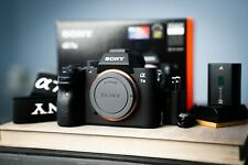 Sony Alpha A7 iii mirrorless digital camera body - 24.2 MP 7196 shutter count