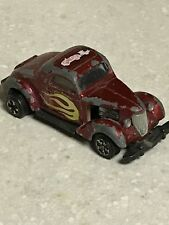 1978 Universal rare GREASE diecast Willy's hotrod Car model Macao Matchbox