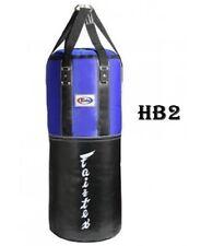 Fairtex Heavy Bag Hb2 Classic Blue Black Muaythai Training Mma By Dhl Express