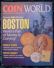 Coin World Magazine July 2010 Special Edition:World Coins Paper Money