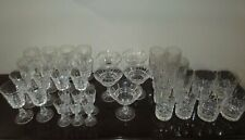 Vintage Waterford Crystal Lismore 37 Piece HighBall Double Old Fashioned