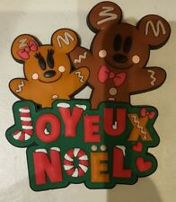 MAGNET MICKEY & MINNIE GINGERBREAD XMAS / Pain d'épices Disneyland Paris Noel