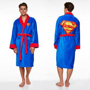 Superman dressing gown / bathrobe (bath robe pjs pajamas pyjamas nightwear)
