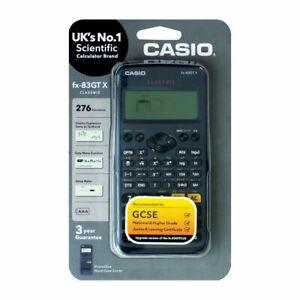 Casio FX-83GTX Scientific Calculator Black. 276 Functions. GCSE, AS & A-Levels.